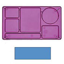 "Cambro 915CW168 - School Tray 2 x 2 10"" x 14"", Blue - Pkg Qty 24"