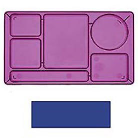 "Cambro 915CW186 - School Tray 2 x 2 10"" x 14"", Navy Blue - Pkg Qty 24"