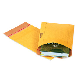 "Jiffy Rigi Bag Mailer®, 12-1/2""W x 15""L, Kraft, 100 Pack"