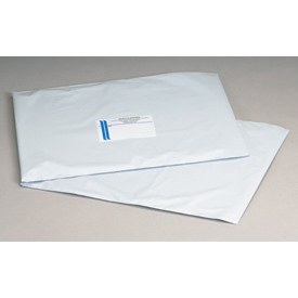 "Self-Seal Polyolefin Mailer, 19""W x 24""L, White, 125 Pack"