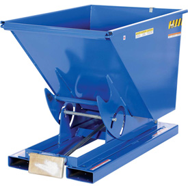 Vestil 3 Cu. Yd. Self-Dumping Steel Hopper with Bump Release D-300-HD 6000 Lb.