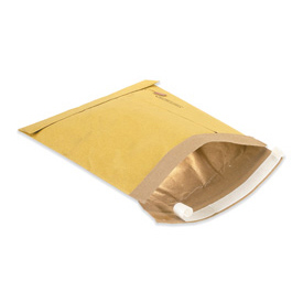 "Self-Seal Padded Mailer, 9-1/2""W x 14-1/2""L, Kraft, 100 Pack"