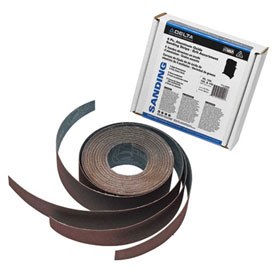 Delta 31-485 4 Pc. Aluminum Oxide Sanding Strips Grit Assortment For 31-260X 18 In x 36 In Sander by