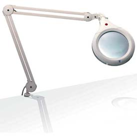 "Daylight™ 7"" White Ultra Slim Magnifying Lamp"
