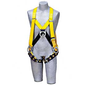 Delta™ Step-In Style Harness 1102876, Front, Back & Side D-Rings, Tongue Buckle Legs, Medium