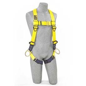 Delta™ Vest Style Harness 1103875, W/Back & Side D-Rings, Pass Through Legs, Universal