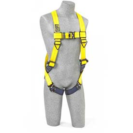 Delta™ Vest Style Harness 1110600, W/Back D-Ring, Quick Connect Buckles, Universal