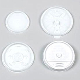 Plastic Lids for Hot/Cold Foam Cups