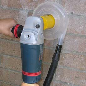 "Dust Muzzle DC Dust Collector for 2-3"" Hole Saws"