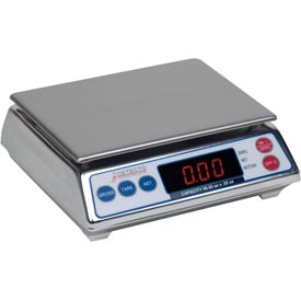 Detecto AP-8 Digital Portion Scale 7.998lb x 0.002lb Stainless Steel by