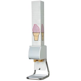 Dispense-Rite BCDS-BFL Countertop Boxed Cone Dispenser by