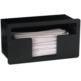 Dispense-Rite Built-In Wrapped Straw Organizer Wide Opening by