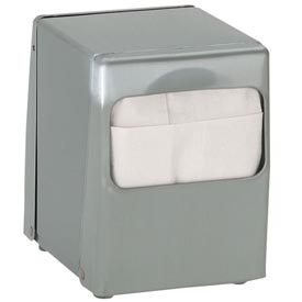 Dispense-Rite Tabletop Low Fold Napkin Dispenser 2 Sided by