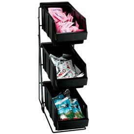 Dispense-Rite 3 Compartment Wire Rack Condiment Organizer by