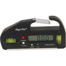 Digi-Pas® DWL-80Pro Professional Pocket-Sized Digital Level