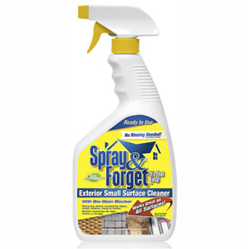 Spray & Forget 32 Oz. Spray Bottle Exterior Small Surface Cleaner SFPM1QT by