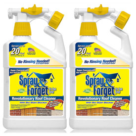 Spray & Forget 32 Oz. Spray Bottle Roof and Exterior Surface Cleaner SFSRC-2Q by