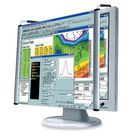 "Kantek MAG19L LCD Monitor Magnifier for 19"" Standard LCD Monitors"