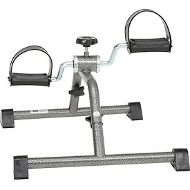 Exercise Peddler with Attractive Silver Vein Finish, Knocked Down