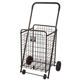 Winnie Wagon All Purpose Shopping Utility Cart, Black by