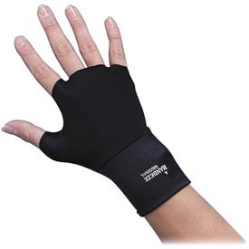 Dome® Ergonomic Therapeutic Support Gloves, 3703, Small Size, Black