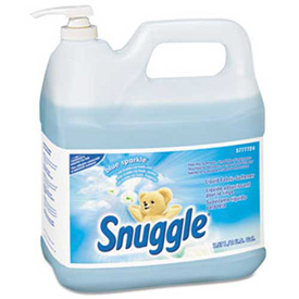 Snuggle® Liquid Fabric Softener, 2 Gallon Dispenser W/ Pump 2/Case - DRA5777724