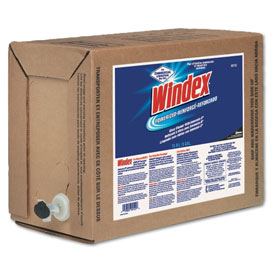 Windex® Powerized Formula Glass/Surface Cleaner, 5 Gallon Bag-In-Box Dispenser - DRA90122