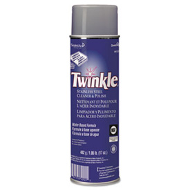 Twinkle® Stainless Steel Cleaner & Polish, 17 Oz. Aerosol 12/Case - DRA91224CT