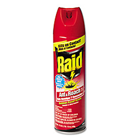 Raid® Ant & Roach Killer, 17.5 Oz. Aerosol 12/Case - DRACB216135CT
