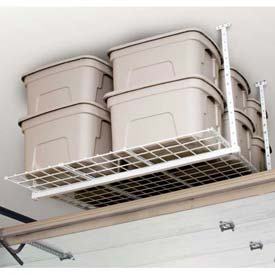 45W x 45D Height Adjustable 16-28 Light Duty Ceiling Mounted Shelf Storage System