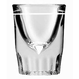 "Anchor Hocking 5281/932U Line Whiskey Shot Glass, 1.5 Oz., 2-7/8"" x 2-1/4"", 48/Case by"