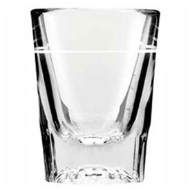 "Click here to buy Anchor Hocking 5282/928U Line Whiskey Shot Glass, 2Oz., 2-7/8"" x 2-1/4"", 48/Case."