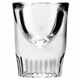 "Anchor Hocking 5280VU Whiskey Shot Glass, 1.25 Oz., 2-7/8"" x 2-1/4"", 72/Case by"