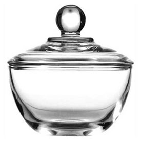 Anchor Hocking 64192B Presence Sugar Dish, 8 Oz., 4/Case by