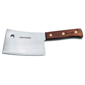 "Dexter Russell 08070 Cleaver High Carbon Steel, Stamped, 7""L by"