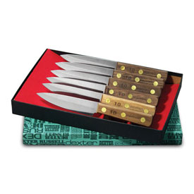 Dexter Russell #2 Set 6 Pc. Steak Knife Set, Stamped by