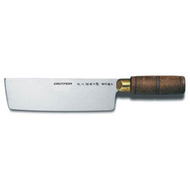 "Dexter Russell 08030- Chinese Chef's Knife, High Carbon Steel, Stamped, 7""L by"