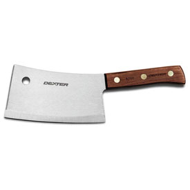 """Dexter Russell 08230 Cleaver Stainless Heavy Duty High Carbon Steel, Stamped, 8""""L by"""
