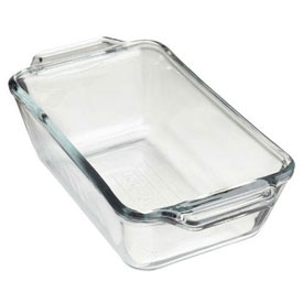 Anchor Hocking 81933OBL5 Loaf Dish, 3/Case by