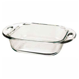 Anchor Hocking 81993L11 Square Cake Dish, 3/Case by