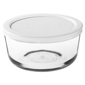 Anchor Hocking 91664L11 Clear Kitchen Storage Container, 6/Case by
