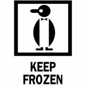 "Keep Frozen 4"" x 6"" - White / Red / Black"