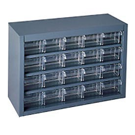 Durham Plastic Drawer Cabinet 016-95 - 20 Drawers