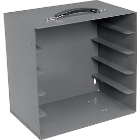 Durham Rack 291-95 - For Large Plastic Compartment Boxes