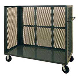 Durham Mfg® Three-Sided Clearview Mesh Stock Truck 3ST-EX3048-95 48x30