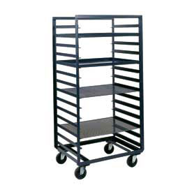 Durham Mfg® Mobile Steel Pan & Tray Rack PAT-24-6-9-95 33x24 9 Tray Capacity