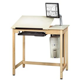 "Drafting Table 42""L x 30""W 2 Piece Top by"