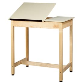 "Drafting Table 36""L x 24""W x 36""H 2 Piece Top by"