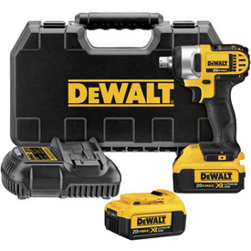 "DeWALT DCF880M2 20V Max Lithium Ion 1/2"" Impact Wrench w/ Detent Pin 4.0AH Kit by"