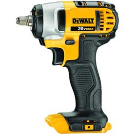 "DeWALT Impact Wrench Tool Only, DCF883B, 3/8"" Square Drive, 20VMAX*, 0-2300 RPM, 130 ft-lbs by"